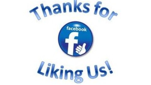 Thanks for LIKING us on FACEBOOK